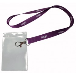 LANYARD + BADGE HOLDER